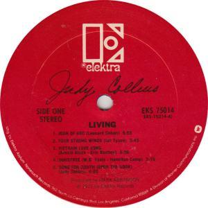 COLLINS JUDY - ELEKTRA 75014 - RA