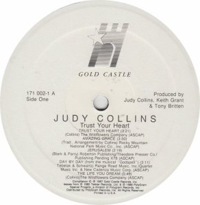 COLLINS JUDY - GOLD CASTLE 171 - RA