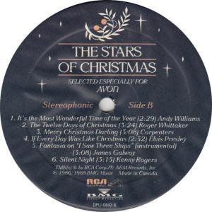 COLLINS JUDY - RCA AVON 842 - STARS OF CHRISTMAS RAA (2)