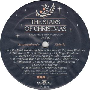 COLLINS JUDY - RCA AVON 842 - STARS OF CHRISTMAS RAA (2)