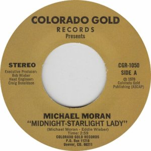 COLORADO GOLD 1050 - MORAN MICHAEL - 1978 B