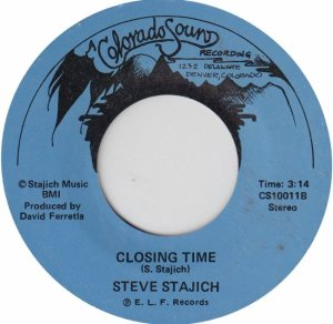 COLORADO SOUND 10011 - STAJICH, STEVE - CLOSING TIME