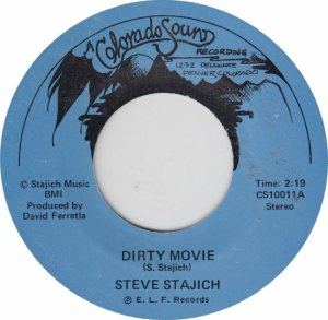 COLORADO SOUND 10011 - STAJICH, STEVE - DIRTY MOVIE