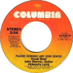 COLUMBIA 1981 12 2689 - DENVER JOHN A