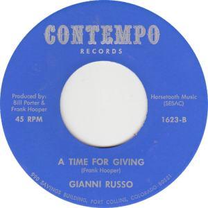Contempo 1623 - Russo, Gianni - Time