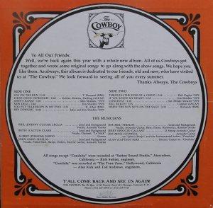 COWBOY - CB 103 - B COV