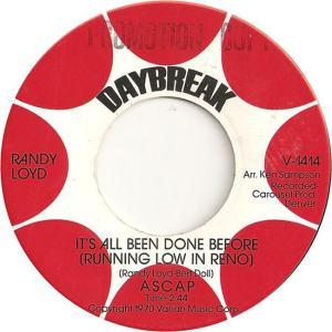 DAYBREAK 1414 - LOYD RANDY - 1970 A