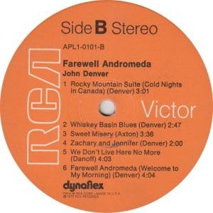DENVER JOHN - RCA 101 - RB