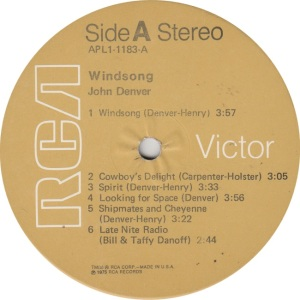 DENVER JOHN - RCA WINDSONG (3)