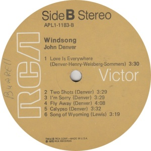 DENVER JOHN - RCA WINDSONG (4)