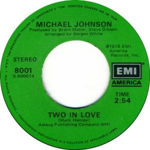 EMI 8001 - JOHNSON MICHAEL - B