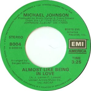 EMI 8004 - JOHNSON MICHAEL A