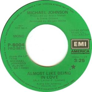 EMI 8004 - JOHNSON MICHAEL DJ A