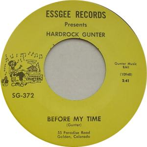 Essgee 372 - Gunter, Hardrock - Before My Time R