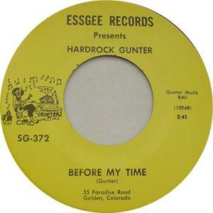 Essgee 372 - Gunter, Hardrock - Before My Time R