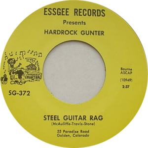 Essgee 372 - Gunter, Hardrock - Steel Guitar Rag R