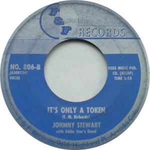 F&F 806 - Stewart, John & Eddie Starr's Band - It's Only A Token R