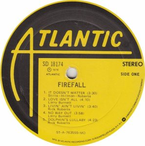 FIREFALL - ATLANTIC 18174 - RA