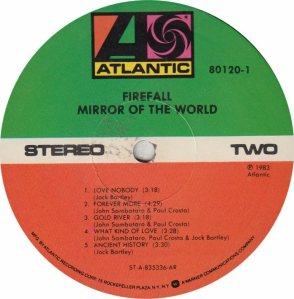 FIREFALL - ATLANTIC 80120 - RB