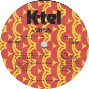 FIREFALL - KTEL 2580 - RA