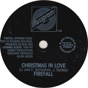 FIREFALL - MUSIGRAM 100 - CHRISTMAS IN LOVE Aa
