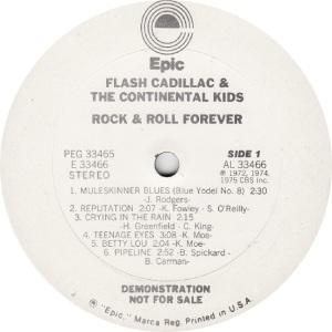 FLASH CADILLAC - EPIC 33466 - R DJ A