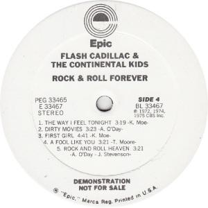 FLASH CADILLAC - EPIC 33466 - R DJ D