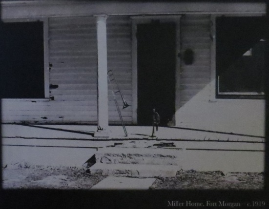 Glenn Miller Home Fort Morgan - 1939