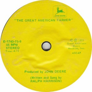 GREAT AMERICAN 1743 - HARRISON RALPH - 1975 A