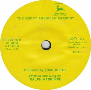 GREAT AMERICAN 1743 - HARRISON RALPH - 1975 B