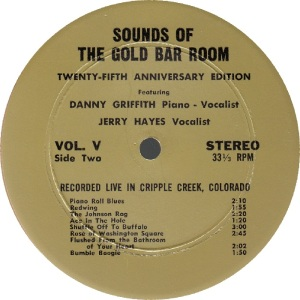 GRIFFITH, DANNY - GOLD BAR 1 - SOUNDS OF RA1 (2)