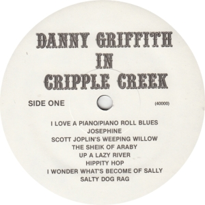 GRIFFITH DANNY - JACKSON SOUND 40000 - RA
