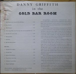 GRIFFITH DANNY - JACKSON SOUND - GOLD BAR ROOM (2)