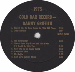 GRIFFITH DANNY - JACKSON SOUND - GOLD BAR ROOM 75 A (1)