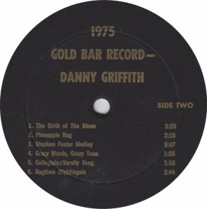 GRIFFITH DANNY - JACKSON SOUND - GOLD BAR ROOM 75 A (2)