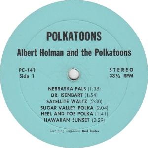 HOLMAN POLKA TOONS - LP 141 - RA 1 (1)