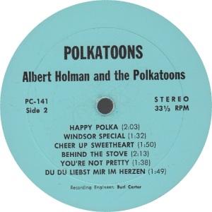 HOLMAN POLKA TOONS - LP 141 - RA 1 (2)
