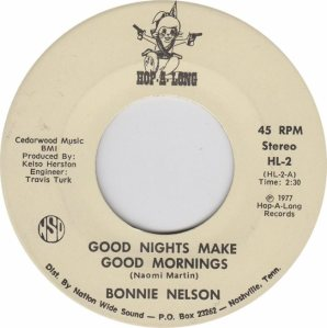 HOP A LONG 2 - NELSON BONNIE - NEW 77 A (1)