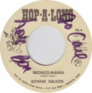 HOP A LONG 4 - NELSON BONNIE - NEW 78 A (2)