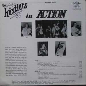 HUSTLERS - FINER ARTS - IN ACTION CB