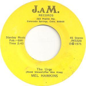 JAM 322 - Hawkins, Mel - The Urge