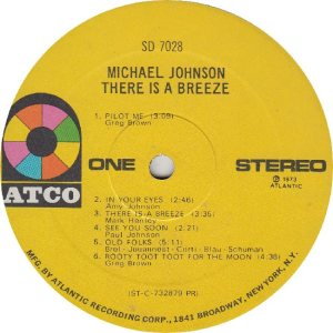 JOHNSON MICHAEL - ATCO 7028 - RA