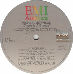 JOHNSON MICHAEL - EMI 16215 - RA