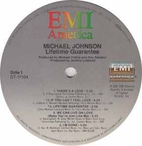 JOHNSON MICHAEL - EMI 17104 - RA
