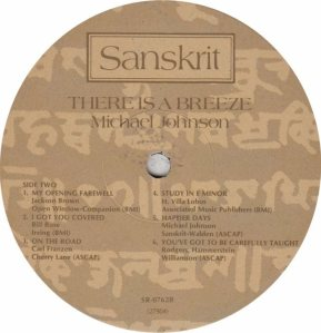 JOHNSON MICHAEL - SANSKRIT 762 - RB