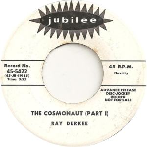 Jubilee 5422 DJ - Durkee, Ray - The Cosmonaut Part I