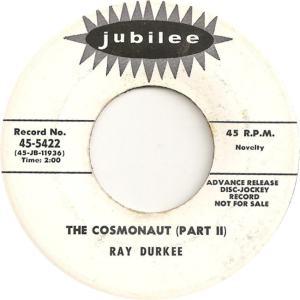 Jubilee 5422 DJ - Durkee, Ray - The Cosmonaut Part II
