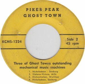 KCMS 1223-4 - PIKES PEAK GHOST - MACHINES