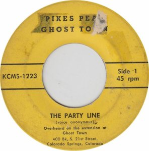 KCMS 1223-4 - PIKES PEAK GHOST - PARTY LINE