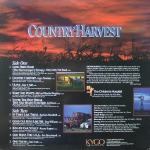 KYGO COUNTRY HARVEST SIDE 2